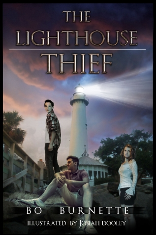 The Lighthouse Thief Kindle cover