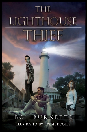 The Lighthouse Thief Paperback Kindle cover