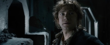 "Bilbo in one of my favorite extended scenes from ""The Battle of the Five Armies"""
